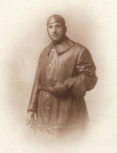 Sidney in his RFC Suit, 1915.
