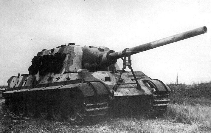 Camouflaged Jagdtiger