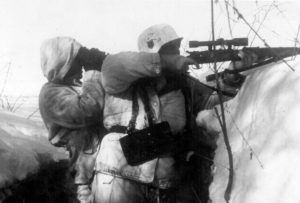 German Sniper on the Russian Front