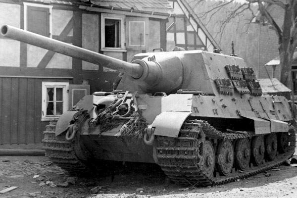 Jagdtiger of the schwere Panzerjäger-Abteilung 512