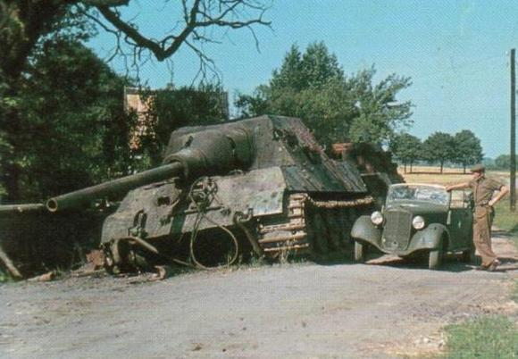 Destroyed Jagdtiger