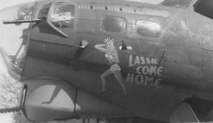 """Lassie Come Home"" (Credits: American Air Museum)"