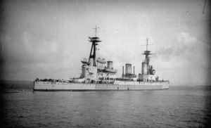 HMS Indefatigable (1909) - Sailors lied about their age