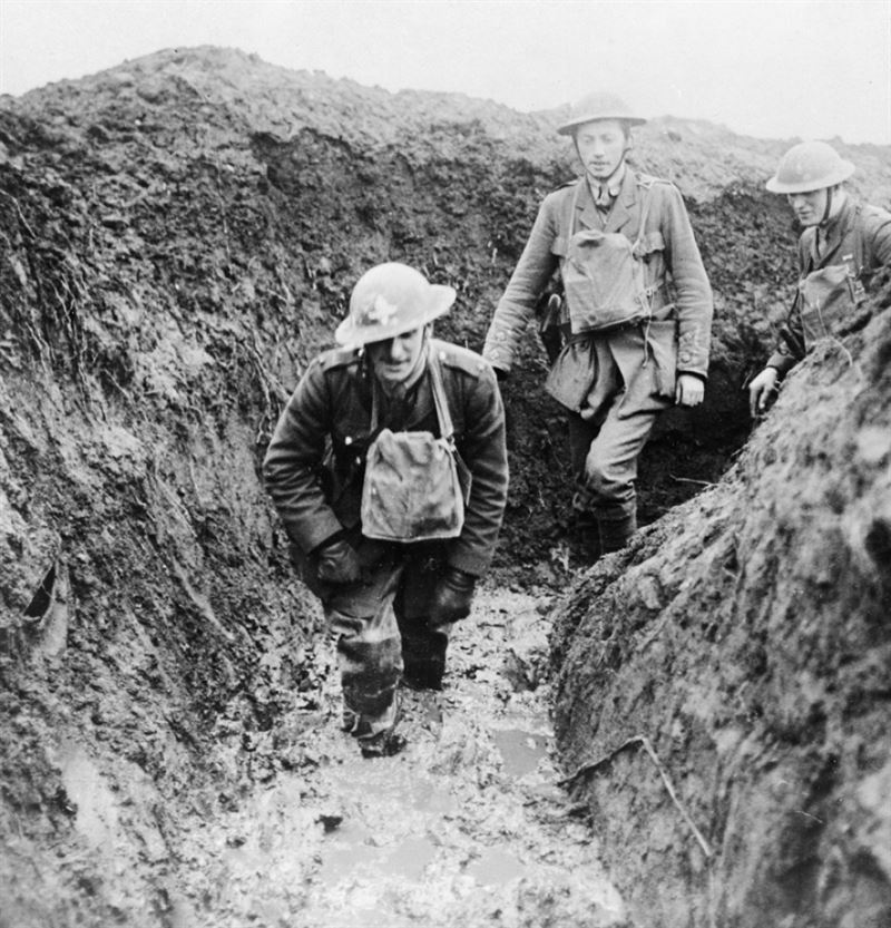 Voices of First World War – Life in the Trenches