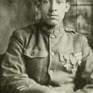 William Butler of Salisbury was a celebrated hero of World War I. (Credits: Linda Duyer / Salisbury Independent)