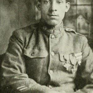 William Butler of Salisbury was a celebrated hero of World War I. (Credits: Linda Duyer / Salisbury Independent)