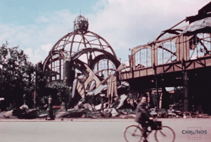 Berlin 1945 stunning color footage
