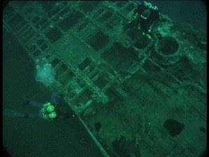 Submarine Wreck of U-155 - Depth 40m