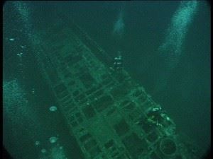 Submarine Wreck of U155
