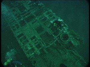 Submarine Wreck of U155