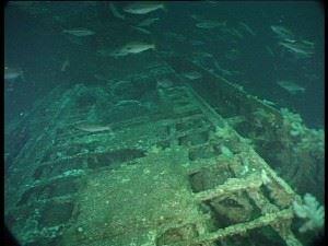 U-155 The broad foredeck characteristic of the long-range Type IX U-boat