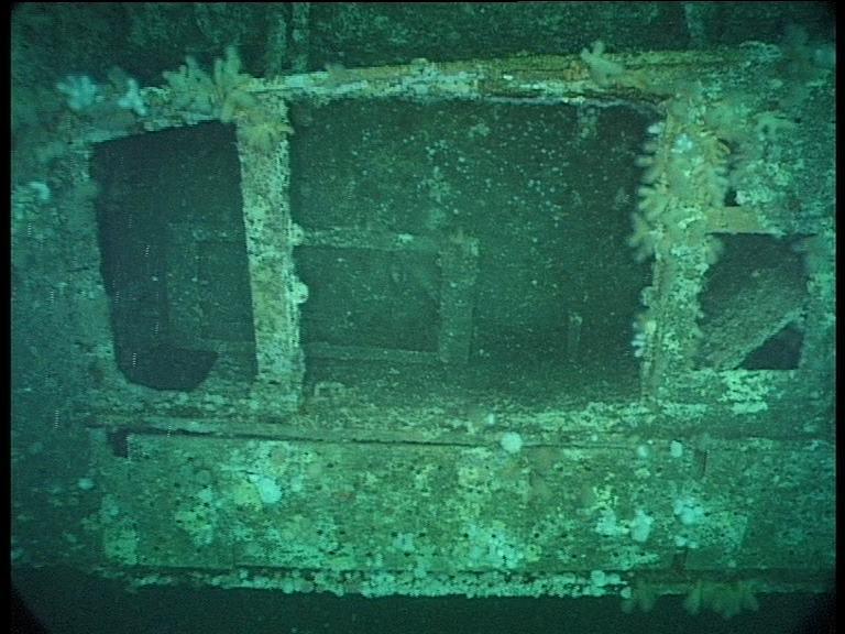 Submarine Wreck of U-155 - Torpedo Tubes