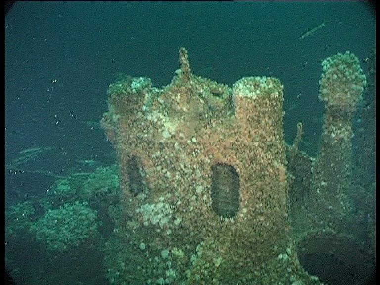 Submarine Wreck of U-155