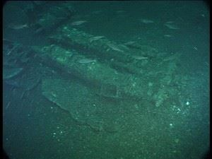 U-155: The torpedo tubes which sunk an aircraft carrier - HMS Avenger