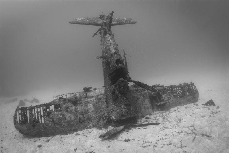 airplane graveyard of world war ii in pacific ocean wwii airplane graveyard credits brandi mueller for argunners