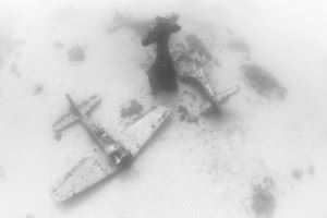 Airplane Graveyard in Kwajalein Atoll - Douglas SBD Dauntless