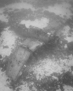 WWII Airplane Graveyard - Helldiver Plane wreck in Kwajalein Atoll (Credits: Brandi Mueller for Argunners)