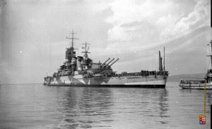The Cadillac of Italy's Navy during World War II: Corazzata Roma
