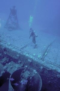 Wreck of the USS Saratoga