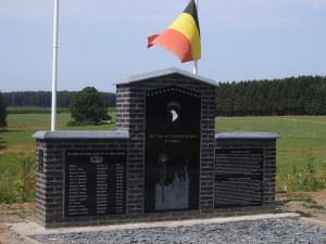 Easy Company Monument in Bois de la Paix