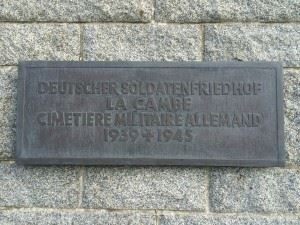 German Military Cemetery La Cambe