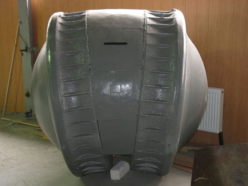 "The ""Kugelpanzer"" at Kubinka Tank Museum (Credits: Wikimedia Commons)"