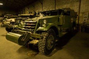M3A1 Scout Car White