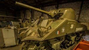 "M4A4T Sherman Medium Tank ""Champaubert"""