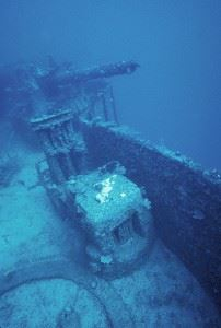 Wreck of the USS Saratoga
