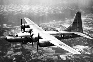 Consolidated B-32-1-CF (S/N 42-108471), the first B-32 built after modification to Block 20 standards. (Credits: U.S. Air Force photo)