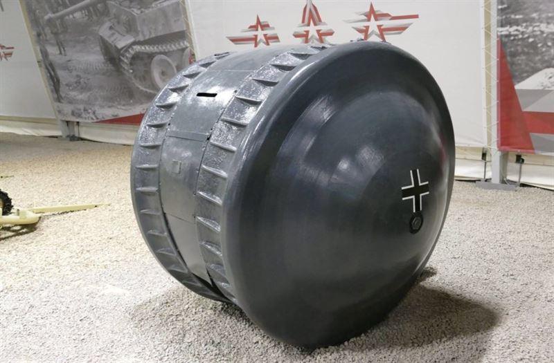 """Kugelpanzer"" at Kubinka Tank Museum (Credits: Yuri Pasholok)"