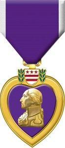 Purple Heart (Credits: U.S. Military)