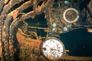 Engine Room of the Rio de Janeiro. (Credits: Brandi Mueller)