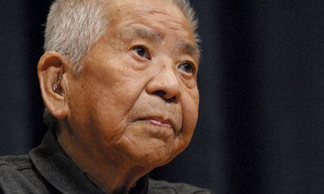 Tsutomu Yamaguchi in 2009 (Credits: Justin McCurry via Wikipedia)