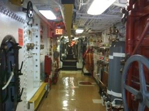 Broadway of the USS New Jersey (BB-62)