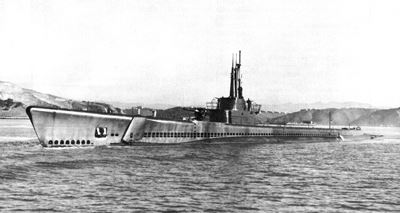 USS Tang sunk by circular run of own torpedo.(Credits: U.S. Navy)