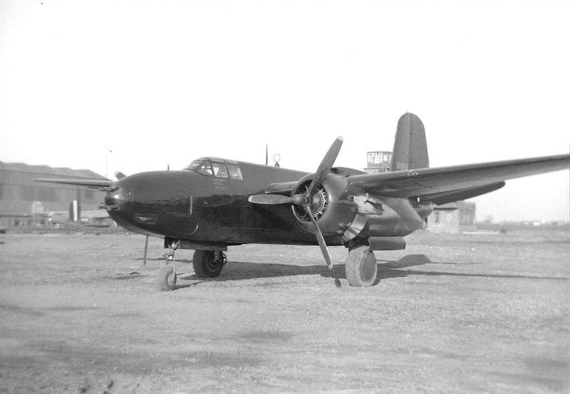 USAAF Images: Douglas A-20G-35-DO Havoc light bomber.