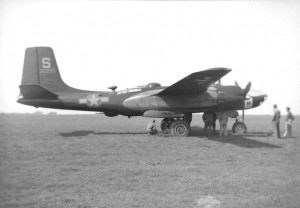 Douglas A-26 Invader from the 492nd Bomb Group/801st Composite Group.