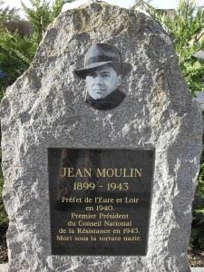 Monument to Jean Moulin, (Credits: Wikimedia)