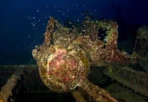 Wreck of San Francisco Maru