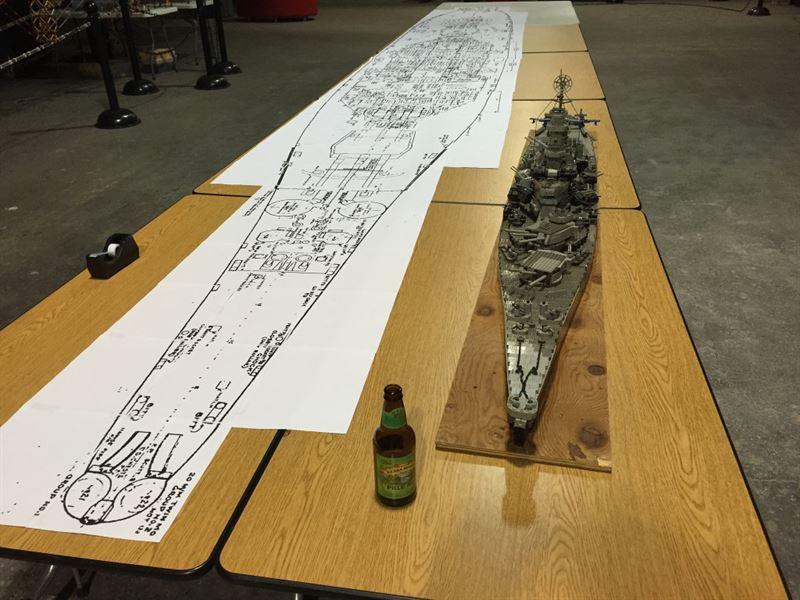 USS Missouri Lego - 2
