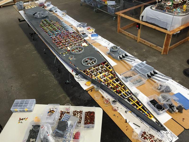 USS Missouri Lego - 4
