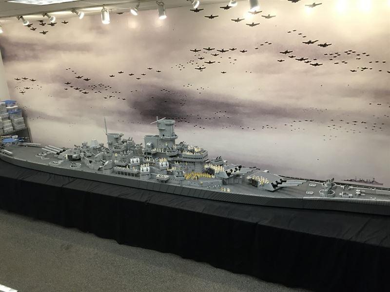 USS Missouri Lego - 5