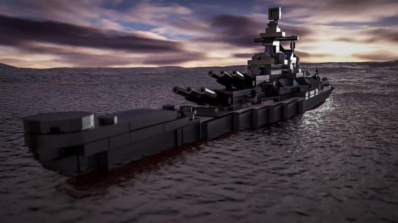 USS Missouri Lego - 8