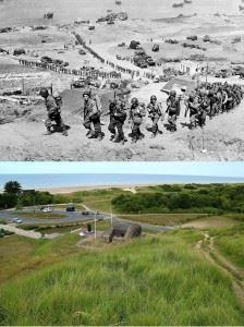Omaha Beach 1944-2015