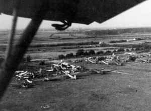 Former Luftwaffe Airfield, Lübeck 1945