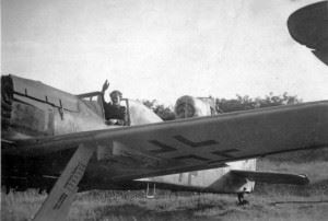 Focke Wulf 190. The type that attacked us on New Year's Day, Lübeck 1945