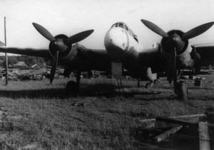 Ju88 at former Luftwaffe Airfield Lübeck