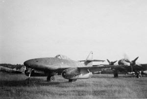 Messerschmitt Me262 at former Luftwaffe Airfield Lübeck