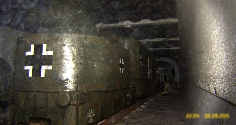 Images of the infamous Polish Gold Train (Hoax)